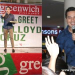 John Lloyd Cruz in Bacolod City for MassKara Festival and Greenwich Pizza Thins