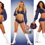 NFL Beauty and Brains: 9 New England Patriots Science Cheerleaders at the Super Bowl XLIX