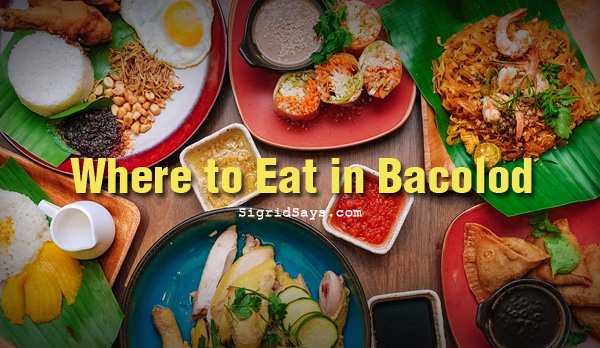 BACOLOD RESTAURANTS: Where to eat in Bacolod