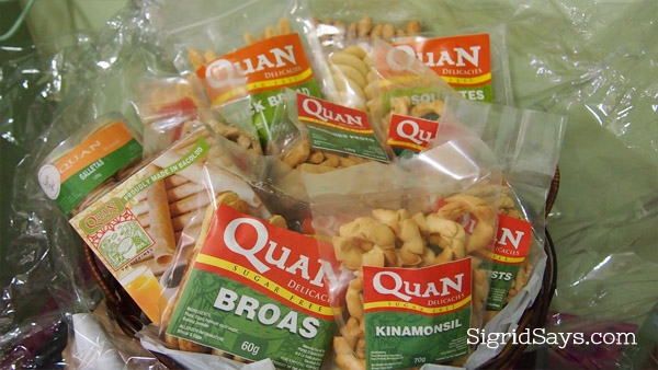 no sugar added snacks - Quan Delicacies - Bacolod pasalubong - Bacolod restaurants