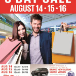 Win a Brand New Grand Vitara at the SM City Bacolod 3 Day Sale