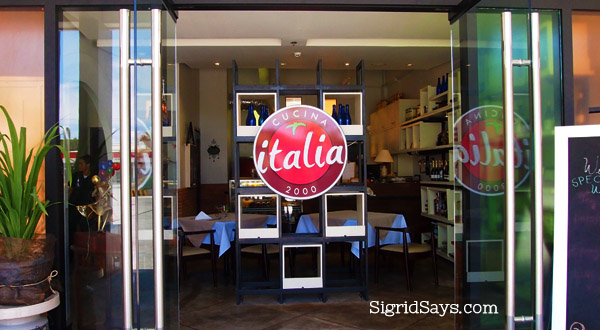 Italia Restaurant Bacolod