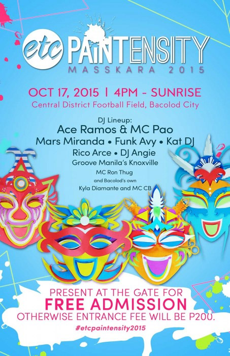 ETC Paintensity Makes MassKara 2015 More Colorful