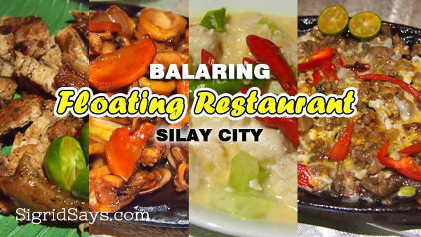Balaring Floating Restaurant: New and Improved Seafood Restaurant in Silay City