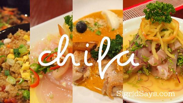 Chifa Comida Latino Peruvian cuisine