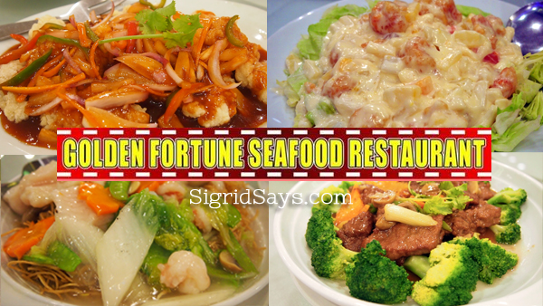 Golden of Fortune Restaurant: Authentic Hong Kong Style Chinese Restaurant in Bacolod