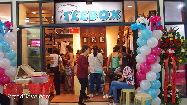 TeeBox Boutique Bacolod Opens at 888 Chinatown Square Premier Mall