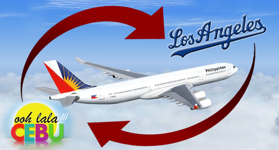 PAL Launches Direct Flights from Cebu to LA