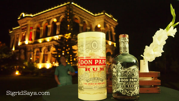 Don Papa Rum - Bacolod pasalubong - Buy Negros Products - Negros Occidental