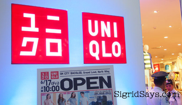 Uniqlo Life Wear Now in SM City Bacolod