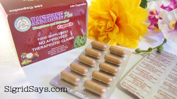 Xanthone Plus mangosteen supplement