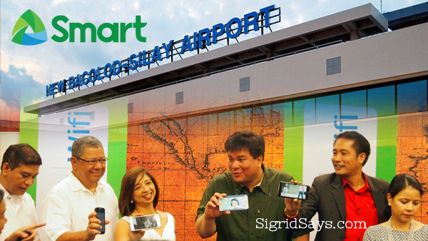 PLDT Smart Provide High Speed Wifi at Bacolod-Silay Airport