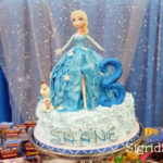 Elsa the Frozen Fever Cake by Bacolod Cupcake Cafe