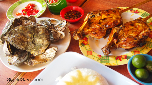 Ilonggo Favorites at LION'S PARK Grill Haus at MANOKAN COUNTRY Bacolod