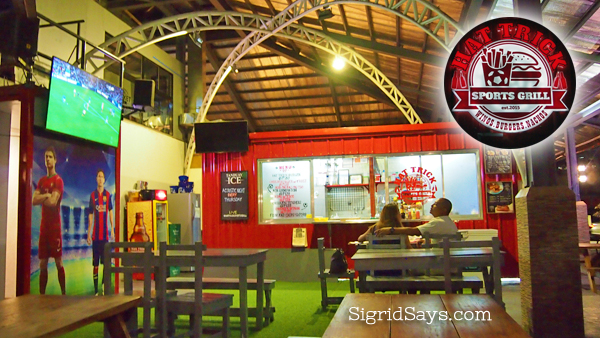 Chill Out at Hat Trick Sports Grill at The Marketplace Bacolod