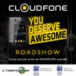 Cloudfone Heads to SM City Bacolod for the You Deserve Awesome Roadshow