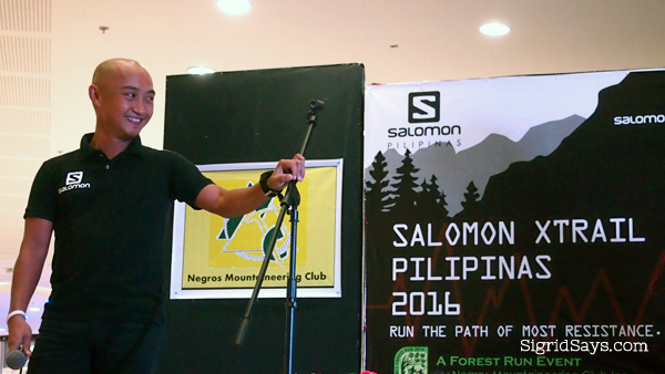 Salomon athlete Aldean Lim