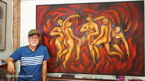 Bacolod Master Artist RODNEY MARTINEZ Shares Art, Passion, and Life