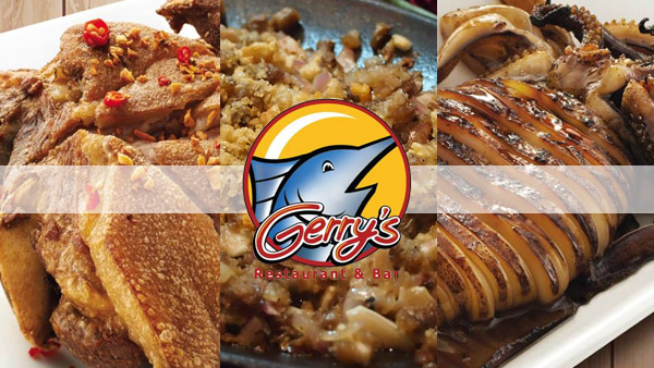 Gerry's grill bacolod specialties