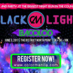 CM BLACKLIGHT RUN BACOLOD 2017
