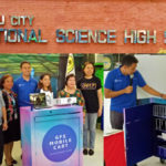 MOBILE TECHNOLOGY CART from GLOBE Given to Cebu Science High