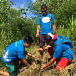 "GLOBE Joins ""Bike. Plant. Hike 2017"" Reforestation Initiative by DENR"