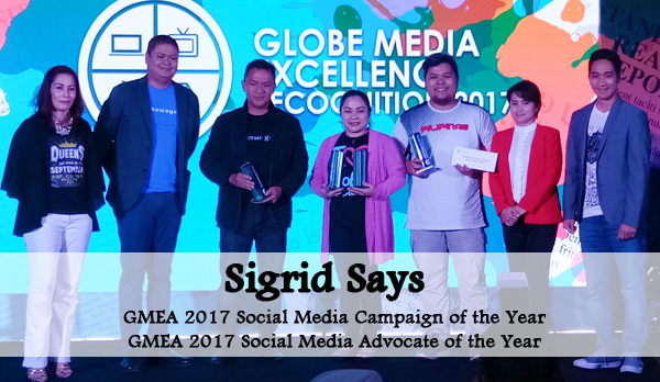 SigridSays Wins Big in GMEA 2017