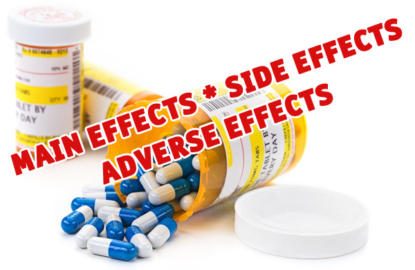 Drugs Side Effects vs. Main Effects and HAIR LOSS