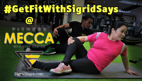 #GetFitWithSigridSays at Fitness Mecca – 3 Winners