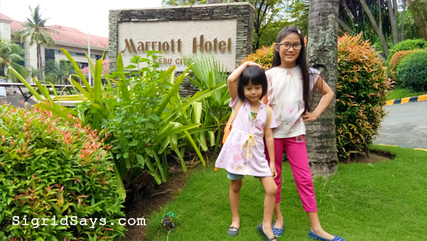Kids at Cebu City Marriott Hotel