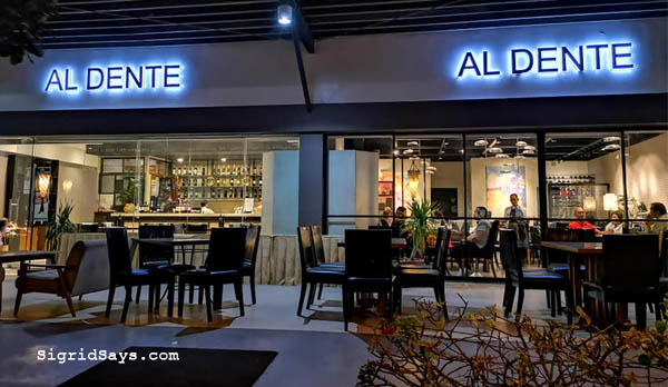 al dente ristorante italiano - iloilo restaurant - Bacolod blogger - Philippines