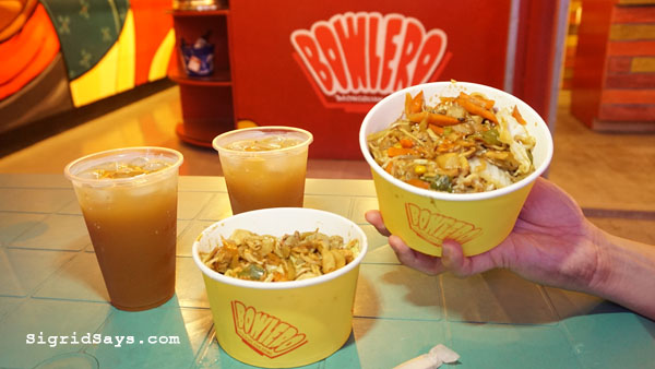 Bowlero Mongolian Bowl - Bacolod restaurants - Mongolian rice bowl
