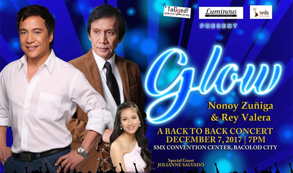Nonoy Zuñiga and Rey Valera in Bacolod Concert