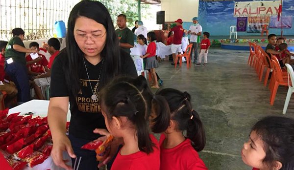 Rotary Club of Bacolod South Brings Hope to Kalipay Negrense Foundation