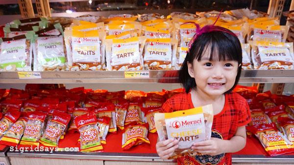 Merzci pasalubong - cheese tarts - Bacolod pasalubong