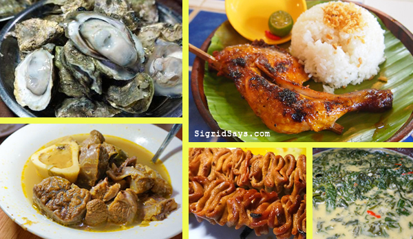 list of Bacolod restaurants - Bacolod eats - Bacolod hotels - Bacolod City - MassKara Festival - Ilonggo food - Pinoy foods - kansi - talaba - Bacolod chicken inasal - where to eat in Bacolod