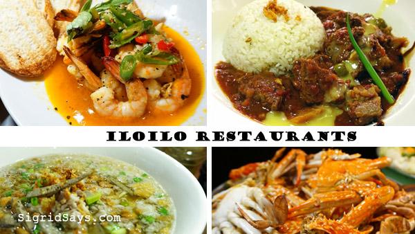 list of Iloilo restaurants