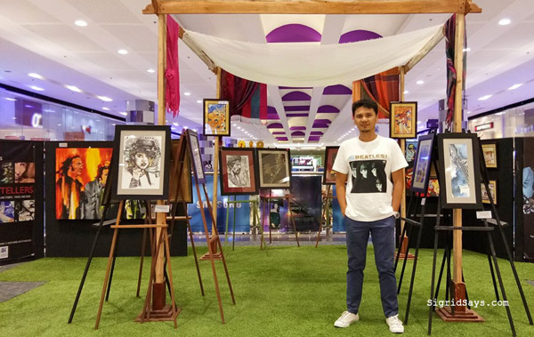 Bacolod artist Beto Tiano paintings