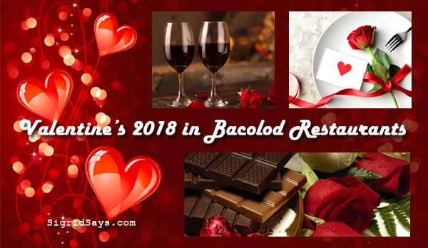 Bacolod restaurants - Valentine dinner