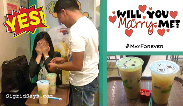 Milk Tea sa Mayfair – #MayForever