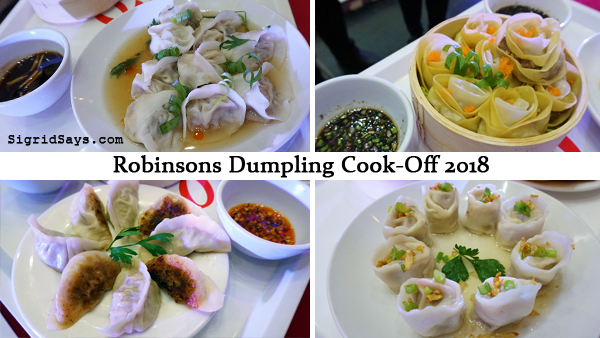 Chinese New Year Dumplings Cookoff
