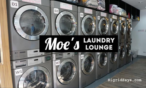 Bacolod Laundry Shop - Moe's Laundry Lounge