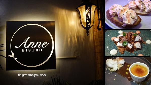Anne Bistro - Bacolod restaurant