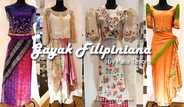 Gayak Filipiniana Creations Exhibit by Patis Tesoro for National Heritage Month