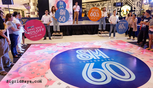 SM Launches 60th Anniversary Celebration
