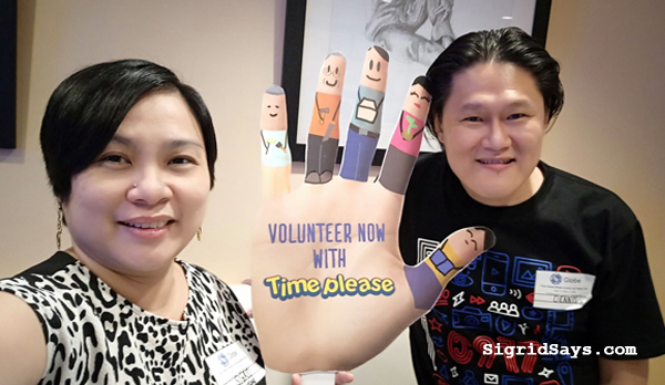 Time Please – Globe, Disney National Volunteering Program