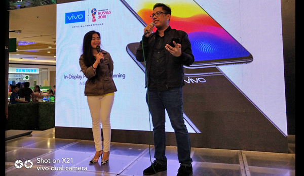 Vivo X21 Specs Wows at the Mobile Fest 2018