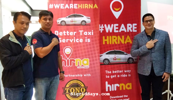 hirna bacolod - taxi hailing app - taxi operators of negros occidental - Bacolod taxi