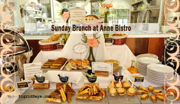 Sunday Brunch Made Special at Anne Bistro