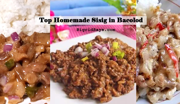 Top Homemade Sisig in Bacolod
